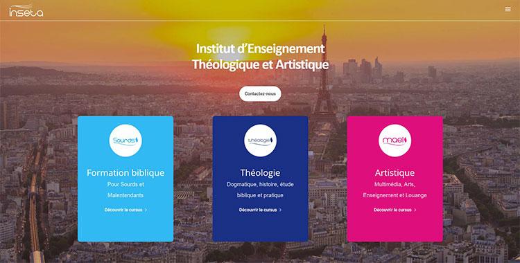 INSETA - Institut d'Enseignement Théologique et Artistique
