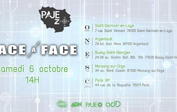 PAJE zone 2018 - Face à face